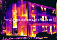 Termografía Calle Comandante Izarduy 32, Vitoria-Gasteiz