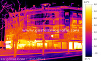 Termografía Calle Heraclio Fournier 11, Vitoria-Gasteiz