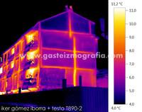 Termografía Calle Portal de Arriaga 42, Vitoria-Gasteiz