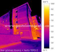 Termografía Naipes Plaza 3, Vitoria-Gasteiz