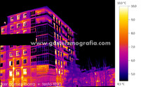 Termografía Plaza Dantzari 2, Vitoria-Gasteiz